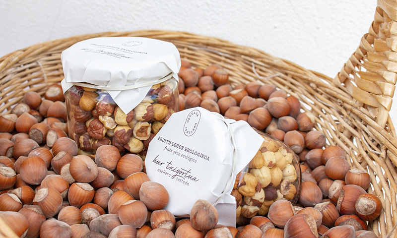 Urteaga-Urkulegiko fruitu lehor ekologikoak