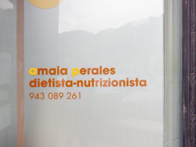 Amaia Perales, dietista-nutrizionista