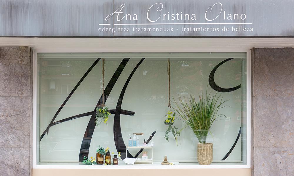 Ana Cristina Edergintzaren erakusleihoa